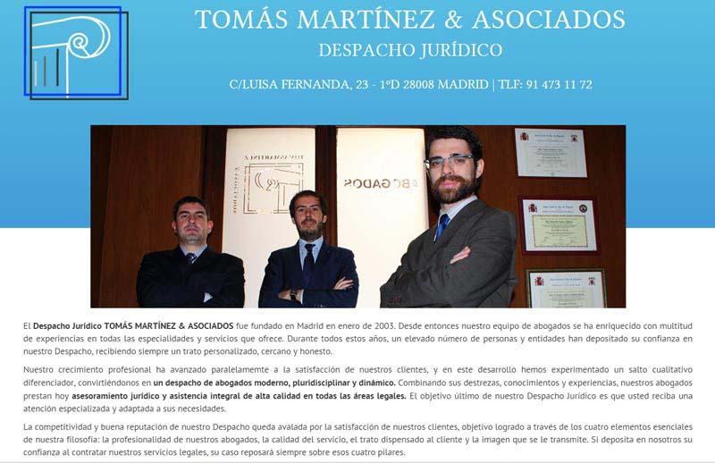Despacho Tomás Martínez