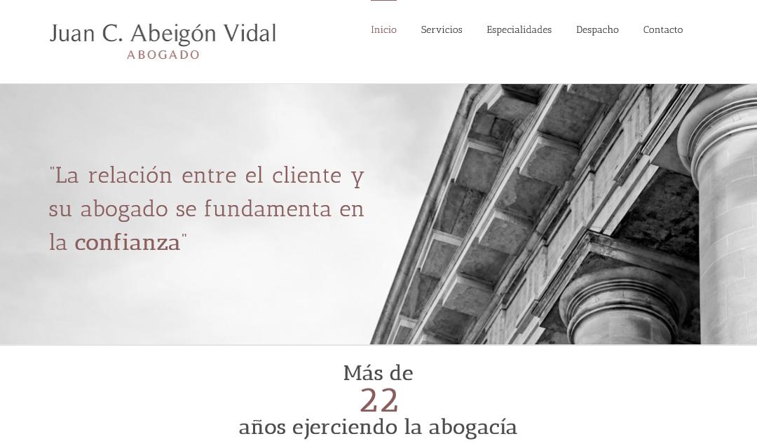 Juan C. Abeigón Vidal.