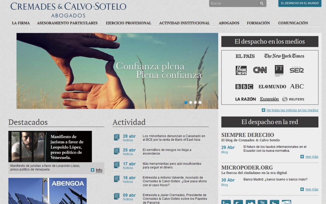 Cremades & Calvo – Sotelo