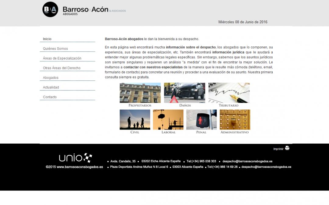 Barroso – Acón Abogados