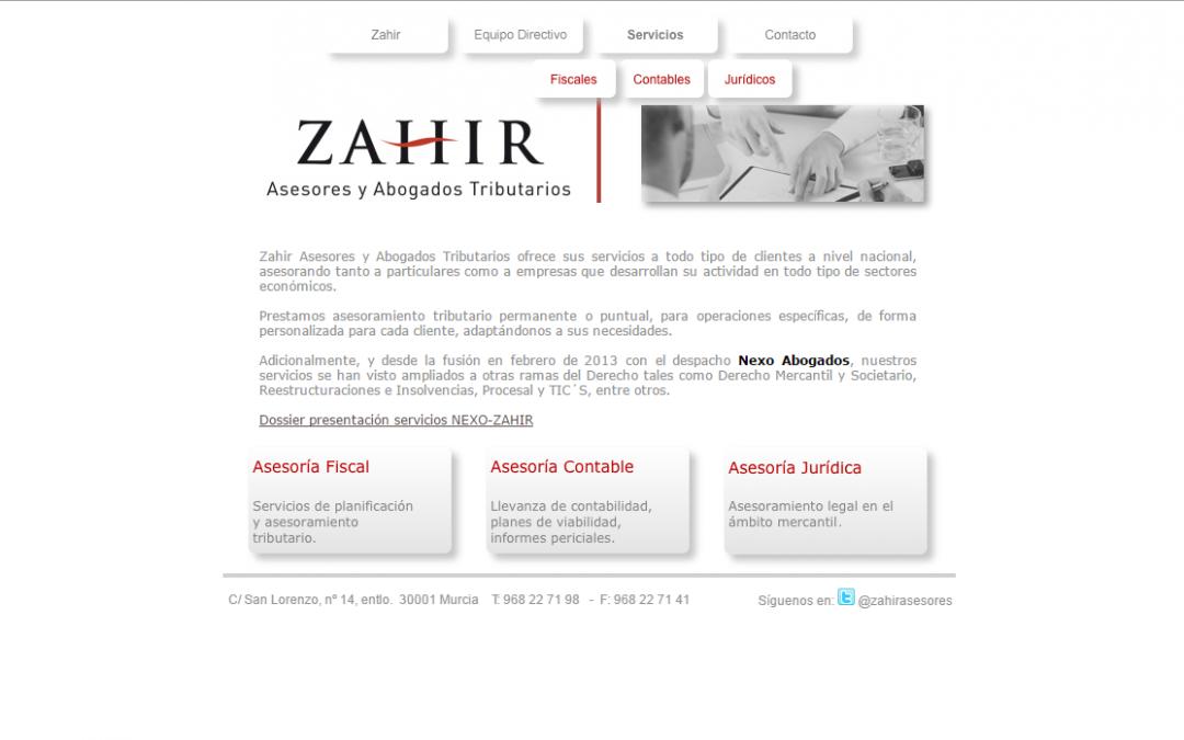 Zahir: Asesores y Abogados Tributarios