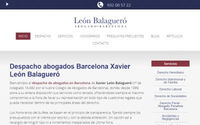 León Balagueró Abogado