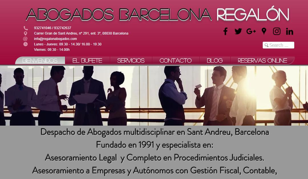 Abogados Barcelona Regalón